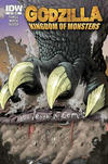 Cover Thumbnail for Godzilla: Kingdom of Monsters (2011 series) #1 [Bell, Book & Comics Cover]