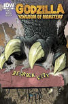 Cover Thumbnail for Godzilla: Kingdom of Monsters (2011 series) #1 [Bedrock City Cover]