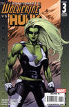 Cover for Ultimate Wolverine vs. Hulk (Marvel, 2006 series) #3 [Second Printing]