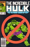 Cover Thumbnail for The Incredible Hulk (1968 series) #317 [Newsstand Edition]