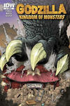 Cover for Godzilla: Kingdom of Monsters (IDW, 2011 series) #1 [The Comic Store Cover]