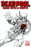 Cover for Deadpool: Merc with a Mouth (Marvel, 2009 series) #1 [McGuinness Sketch Cover]