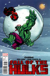 Cover Thumbnail for Fall of the Hulks: Gamma (2010 series) #1 [Snowball Variant Cover]