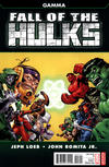 Cover Thumbnail for Fall of the Hulks: Gamma (2010 series) #1 [Second Printing]