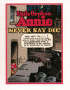 "Cover for Little Orphan Annie ""Never Say Die!"" (Pacific Comics Club, 2001 series)"