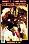 Cover for Iron Man: Extremis Director's Cut (Marvel, 2010 series) #4