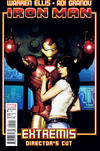 Cover for Iron Man: Extremis Director's Cut (Marvel, 2010 series) #5