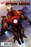 Cover for Invincible Iron Man (Marvel, 2008 series) #25 [Second Printing]