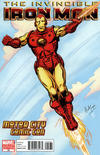 Cover for Invincible Iron Man (Marvel, 2008 series) #25 [Motor City Comic Con Variant Edition]