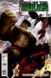 Cover for Incredible Hulk (Marvel, 2009 series) #607 [Variant Cover]
