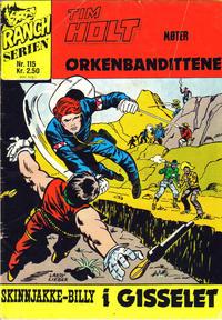 Cover Thumbnail for Ranchserien (Illustrerte Klassikere / Williams Forlag, 1968 series) #115