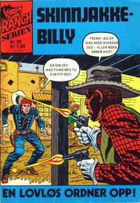 Cover Thumbnail for Ranchserien (Illustrerte Klassikere / Williams Forlag, 1968 series) #99