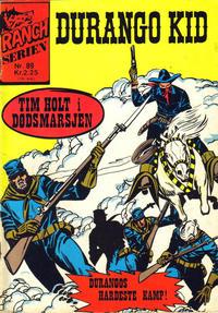 Cover Thumbnail for Ranchserien (Illustrerte Klassikere / Williams Forlag, 1968 series) #89