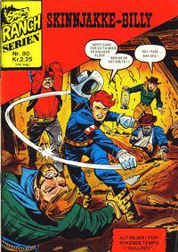 Cover Thumbnail for Ranchserien (Illustrerte Klassikere / Williams Forlag, 1968 series) #80