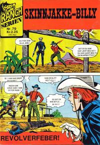 Cover Thumbnail for Ranchserien (Illustrerte Klassikere / Williams Forlag, 1968 series) #79