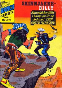 Cover Thumbnail for Ranchserien (Illustrerte Klassikere / Williams Forlag, 1968 series) #33