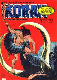 Cover Thumbnail for Korak & Co (Illustrerte Klassikere / Williams Forlag, 1973 series) #1/1976