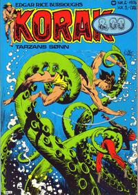 Cover Thumbnail for Korak & Co (Illustrerte Klassikere / Williams Forlag, 1973 series) #2/1976