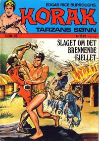 Cover Thumbnail for Korak (Illustrerte Klassikere / Williams Forlag, 1966 series) #47