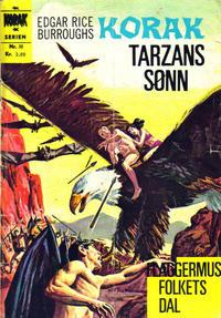 Cover for Korak (Illustrerte Klassikere / Williams Forlag, 1966 series) #30