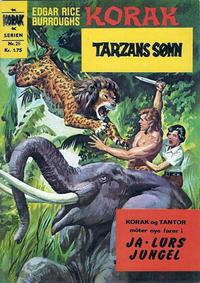 Cover Thumbnail for Korak (Illustrerte Klassikere / Williams Forlag, 1966 series) #26