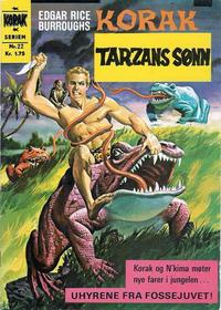 Cover Thumbnail for Korak (Illustrerte Klassikere / Williams Forlag, 1966 series) #22