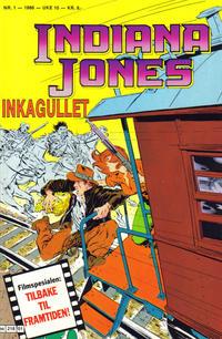 Cover Thumbnail for Indiana Jones (Semic, 1984 series) #1/1986