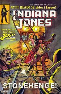 Cover Thumbnail for Indiana Jones (Semic, 1984 series) #3/1984