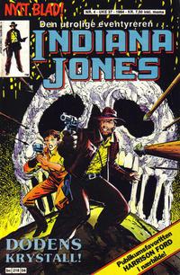 Cover Thumbnail for Indiana Jones (Semic, 1984 series) #4/1984