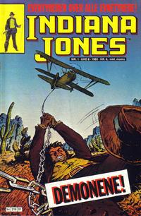 Cover Thumbnail for Indiana Jones (Semic, 1984 series) #1/1985