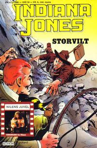 Cover Thumbnail for Indiana Jones (Semic, 1984 series) #4/1986