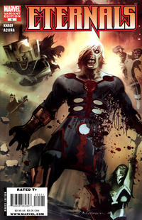 Cover Thumbnail for Eternals (Marvel, 2008 series) #5 [Zombie Variant Edition]