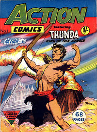 Cover Thumbnail for Action Comics (L. Miller & Son, 1958 series) #1