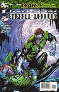 Cover Thumbnail for Green Lantern: Emerald Warriors (DC, 2010 series) #8 [Tyler Kirkham Variant Cover]