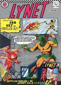 Cover Thumbnail for Lynet (Serieforlaget / Se-Bladene / Stabenfeldt, 1967 series) #3/1967