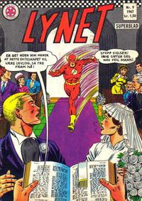 Cover for Lynet (Serieforlaget / Se-Bladene / Stabenfeldt, 1967 series) #9/1967