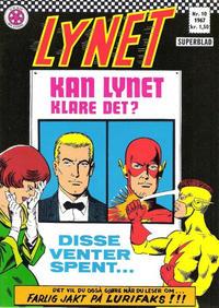 Cover Thumbnail for Lynet (Serieforlaget / Se-Bladene / Stabenfeldt, 1967 series) #10/1967