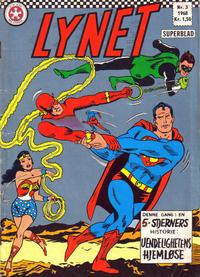 Cover Thumbnail for Lynet (Serieforlaget / Se-Bladene / Stabenfeldt, 1967 series) #3/1968