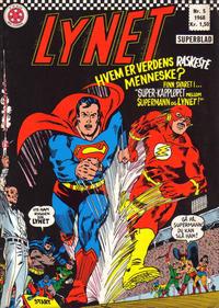 Cover Thumbnail for Lynet (Serieforlaget / Se-Bladene / Stabenfeldt, 1967 series) #5/1968