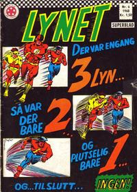 Cover Thumbnail for Lynet (Serieforlaget / Se-Bladene / Stabenfeldt, 1967 series) #6/1968