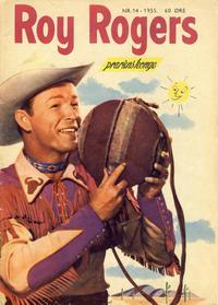 Cover Thumbnail for Roy Rogers (Serieforlaget / Se-Bladene / Stabenfeldt, 1954 series) #14/1955