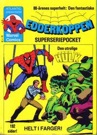 Cover Thumbnail for Edderkoppen pocket [Edderkoppen superseriepocket] (Atlantic Forlag, 1979 series) #2