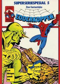 Cover Thumbnail for Edderkoppen Superseriealbum (Atlantic Forlag, 1979 series) #5