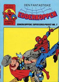 Cover Thumbnail for Edderkoppen pocket [Edderkoppen superseriepocket] (Atlantic Forlag, 1979 series) #7
