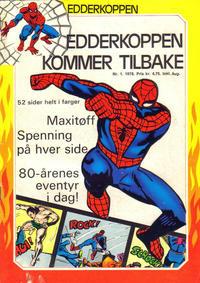 Cover Thumbnail for Edderkoppen (Atlantic Forlag, 1978 series) #1/1978