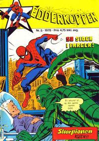 Cover Thumbnail for Edderkoppen (Atlantic Forlag, 1978 series) #5/1978