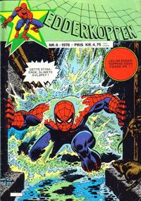 Cover Thumbnail for Edderkoppen (Atlantic Forlag, 1978 series) #6/1978