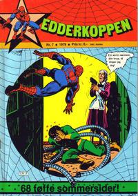 Cover Thumbnail for Edderkoppen (Atlantic Forlag, 1978 series) #7/1979