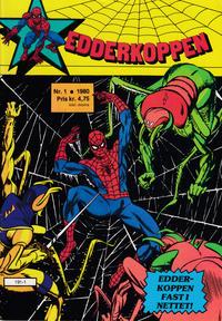 Cover Thumbnail for Edderkoppen (Atlantic Forlag, 1978 series) #1/1980