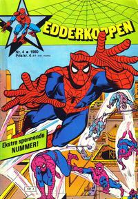 Cover Thumbnail for Edderkoppen (Atlantic Forlag, 1978 series) #4/1980